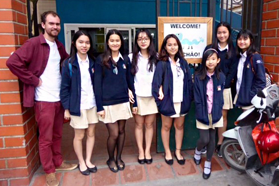 Fundraiser idea - School fundraising events (Image - British International School students at Blue Dragon)